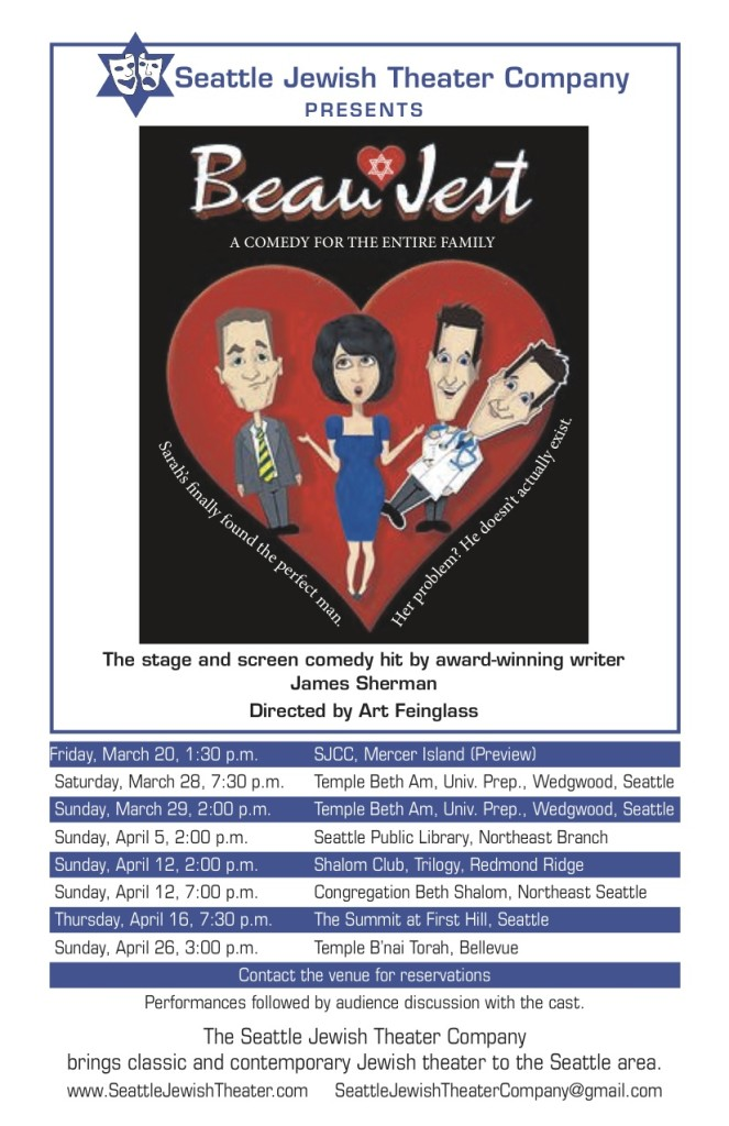 "SJTC-""Beau Jest"" Performancess"